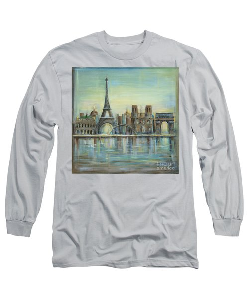 Paris Highlights Long Sleeve T-Shirt