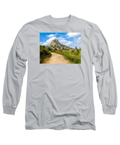 Path Into The Hills Long Sleeve T-Shirt
