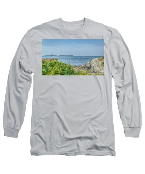 Long Sleeve T-Shirt featuring the photograph Path To The Cove by Jane Luxton