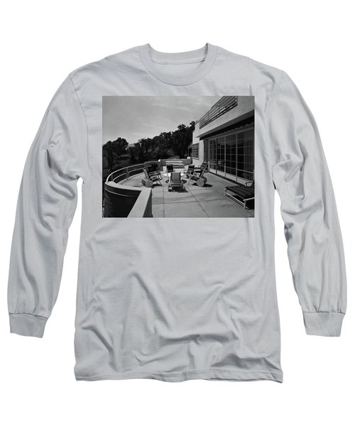 Paved Terrace At The Residence Of Mr. And Mrs Long Sleeve T-Shirt