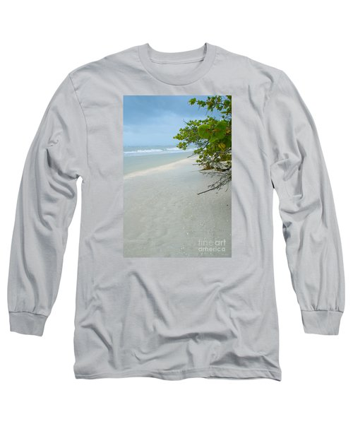 Peace And Quiet On Sanibel Island Long Sleeve T-Shirt by Jennifer White