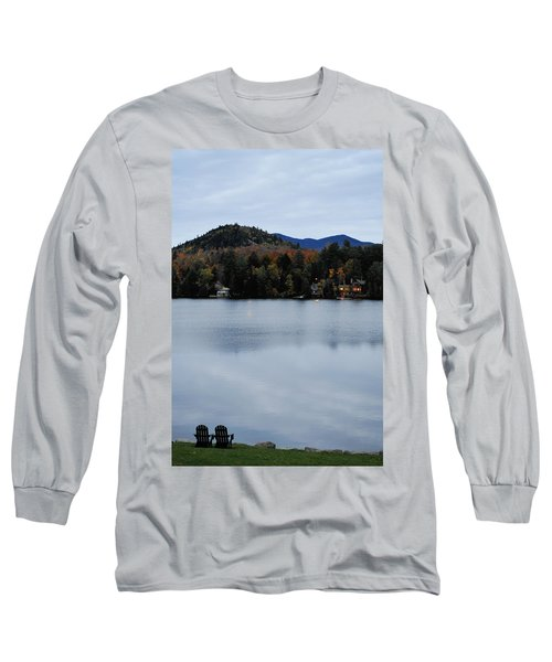 Peaceful Evening At The Lake Long Sleeve T-Shirt