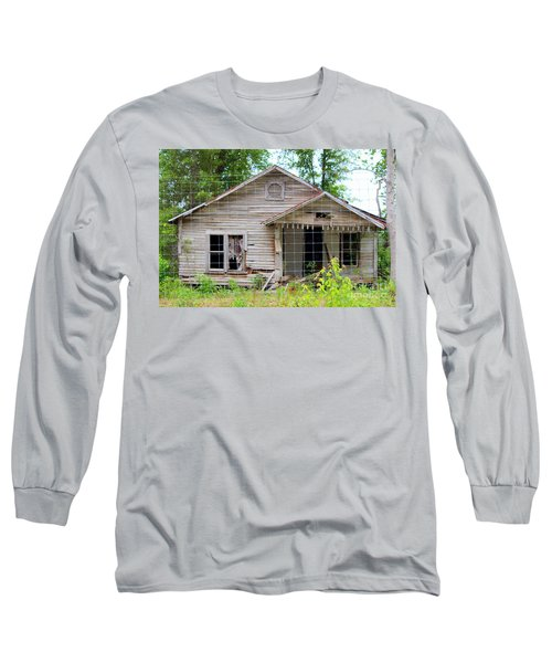 Peeking In At The Past Long Sleeve T-Shirt