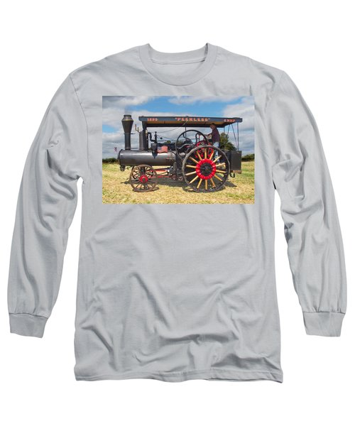 Peerless Steam Traction Engine Long Sleeve T-Shirt