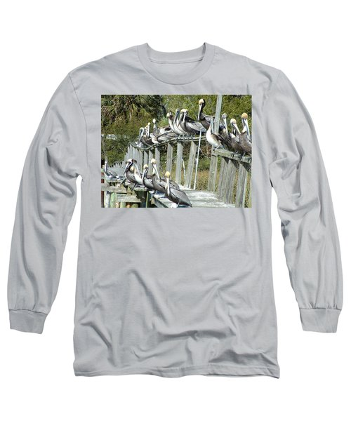 Pelican Party Long Sleeve T-Shirt