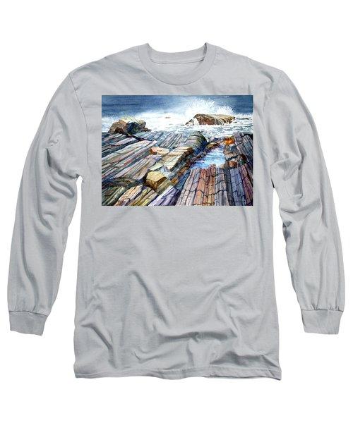 Pemaquid Rocks Long Sleeve T-Shirt