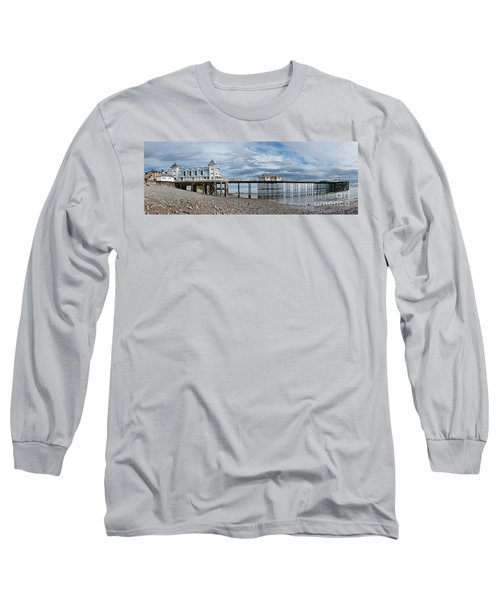 Penarth Pier Panorama 1 Long Sleeve T-Shirt