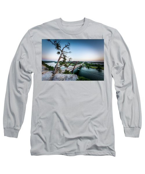 Pennybacker Bridge Austin Long Sleeve T-Shirt