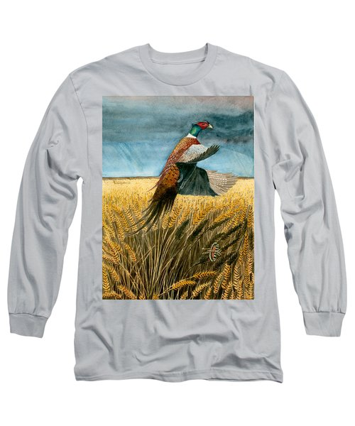 Pheasant Rising Long Sleeve T-Shirt