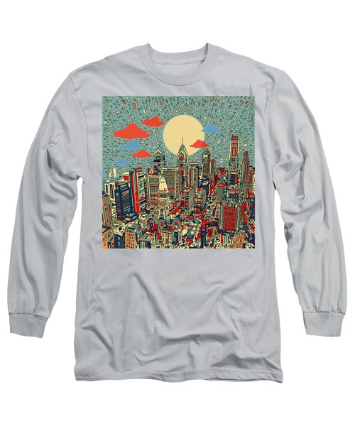Philadelphia Dream 2 Long Sleeve T-Shirt by Bekim Art