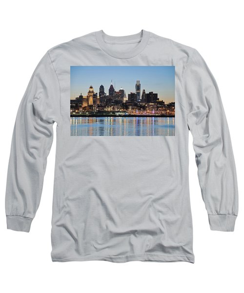 Philly Sunset Long Sleeve T-Shirt