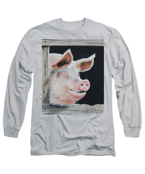 Piggy.  Sold  Long Sleeve T-Shirt