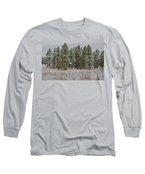Pine Flurries Long Sleeve T-Shirt