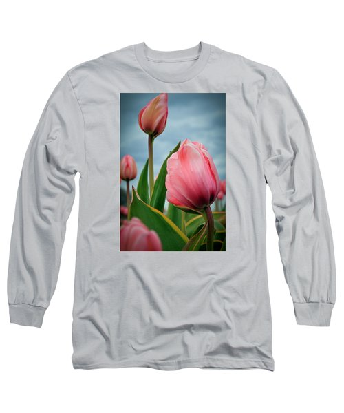 Pink Passion Long Sleeve T-Shirt by Athena Mckinzie
