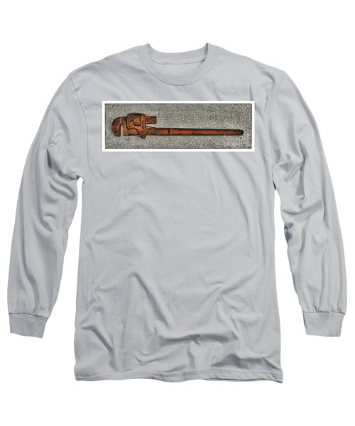 Pipe Wrench Made In U S A Long Sleeve T-Shirt