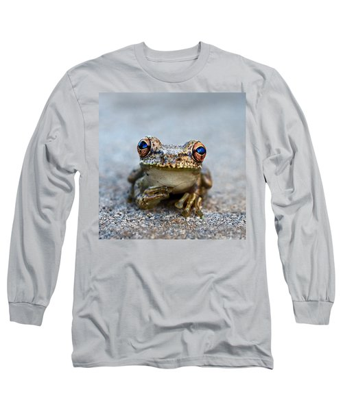 Pondering Frog Long Sleeve T-Shirt