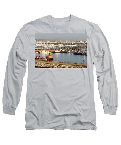 Port Of Agadir Morocco 1 Long Sleeve T-Shirt