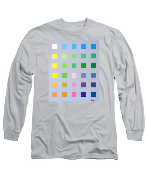Primary To Tertiary Long Sleeve T-Shirt