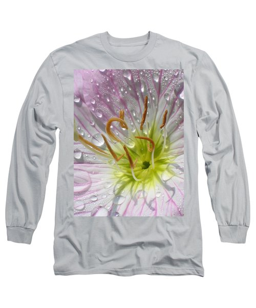 Primrose Long Sleeve T-Shirt by Jennifer Wheatley Wolf