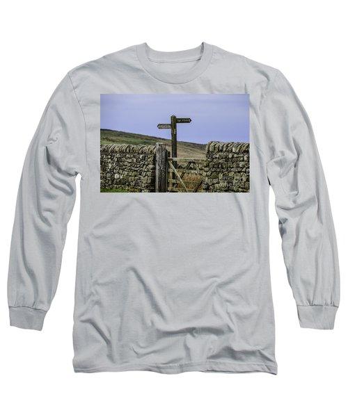 Public Bridleway Long Sleeve T-Shirt