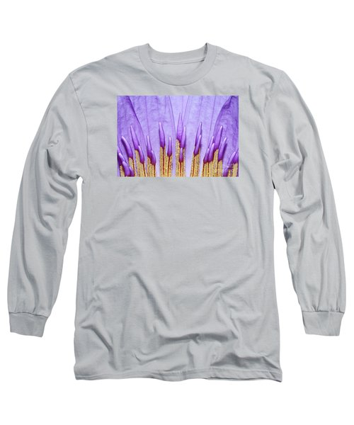 Purple Spires Long Sleeve T-Shirt