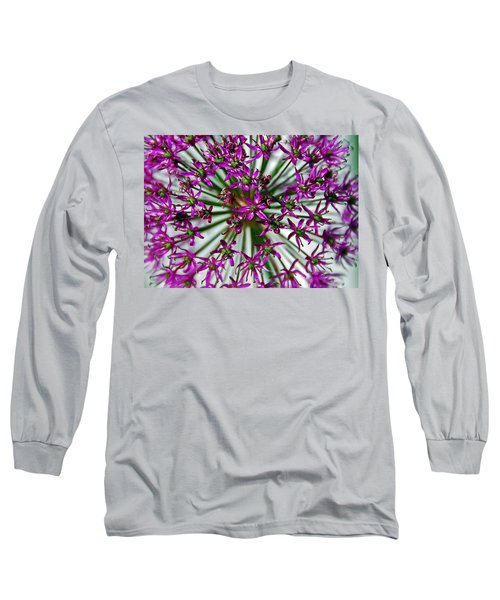 Long Sleeve T-Shirt featuring the photograph Purple Starlight by Aimee L Maher Photography and Art Visit ALMGallerydotcom