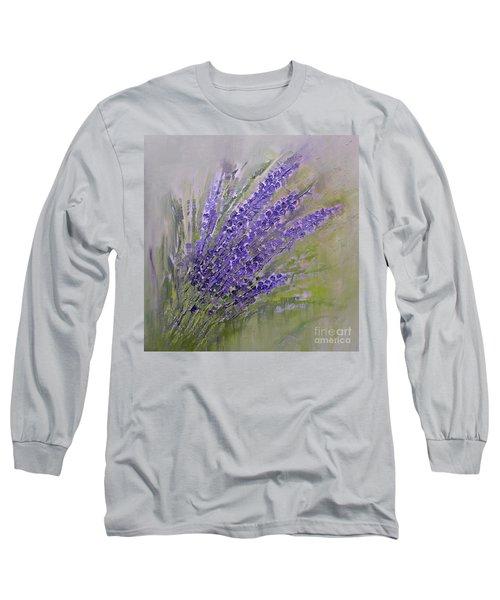 Purple Summer Long Sleeve T-Shirt