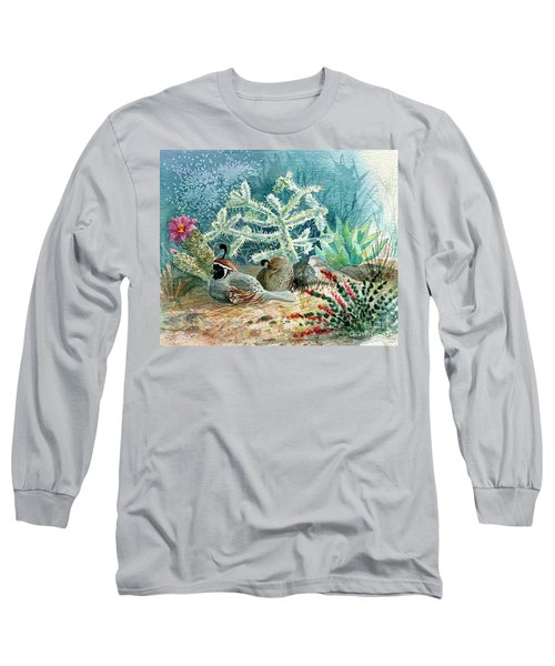 Quail At Rest Long Sleeve T-Shirt