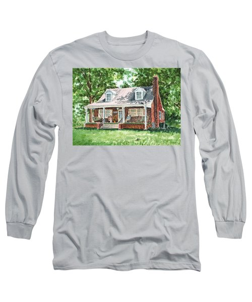 Quiet East Coast Summer Day Honey Look There Is A Rabbit Long Sleeve T-Shirt