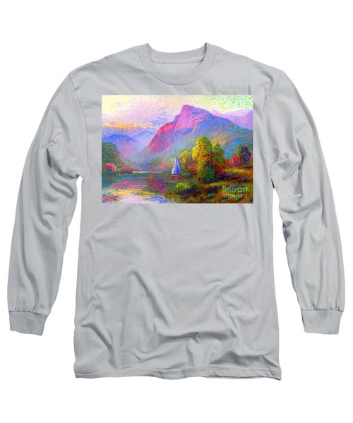 Sailing Into A Quiet Haven Long Sleeve T-Shirt