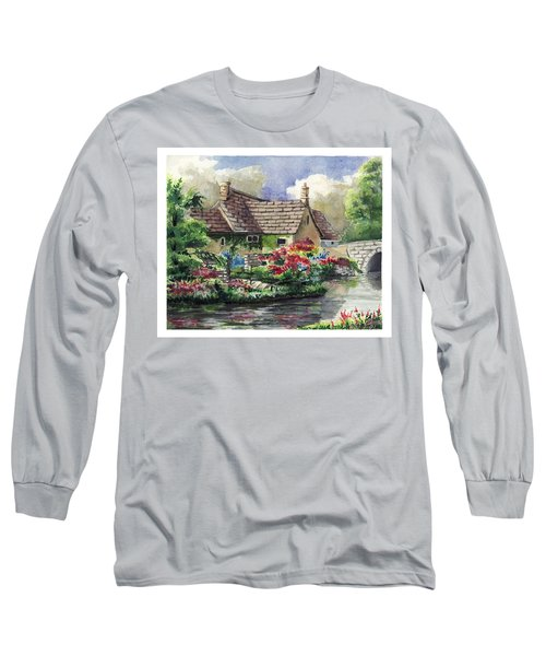 Quiet House Along The River Long Sleeve T-Shirt
