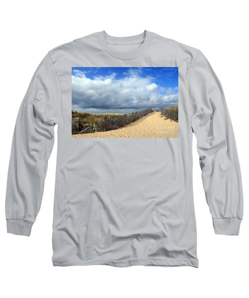 Long Sleeve T-Shirt featuring the photograph Race Point by Paula Guttilla
