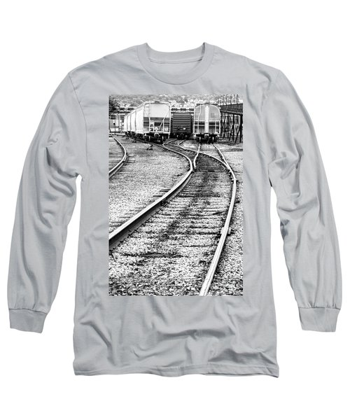 Railroad Yard Long Sleeve T-Shirt