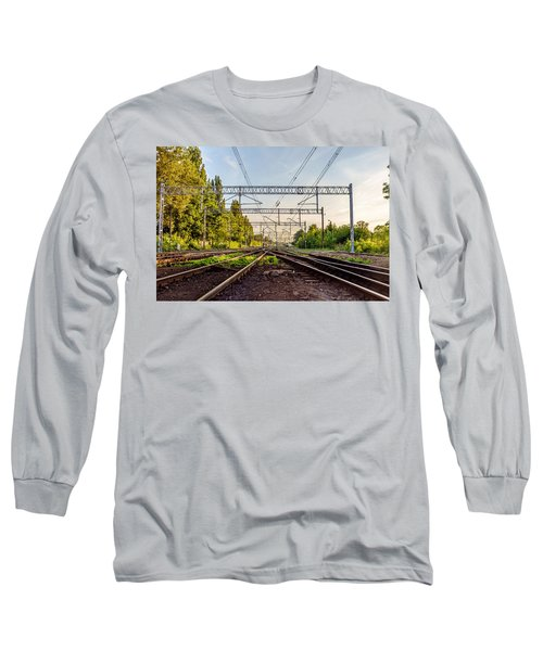 Railway To Nowhere Long Sleeve T-Shirt