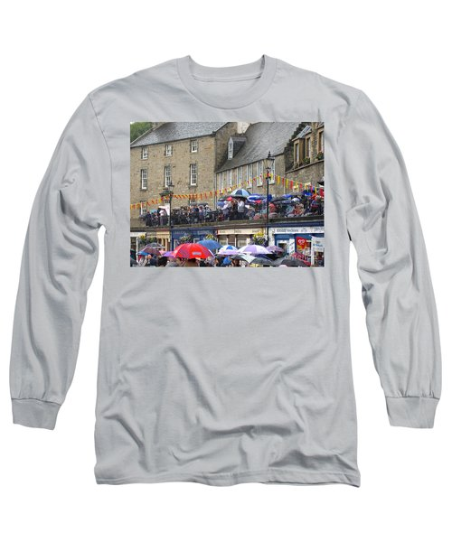 Long Sleeve T-Shirt featuring the photograph Rain On The Parade by Suzanne Oesterling