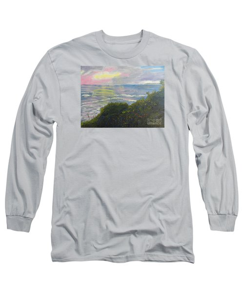 Rays Of Light At Burliegh Heads Long Sleeve T-Shirt