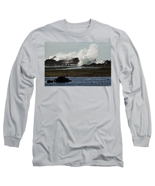 Reaching For The Sky Long Sleeve T-Shirt by Dave Files