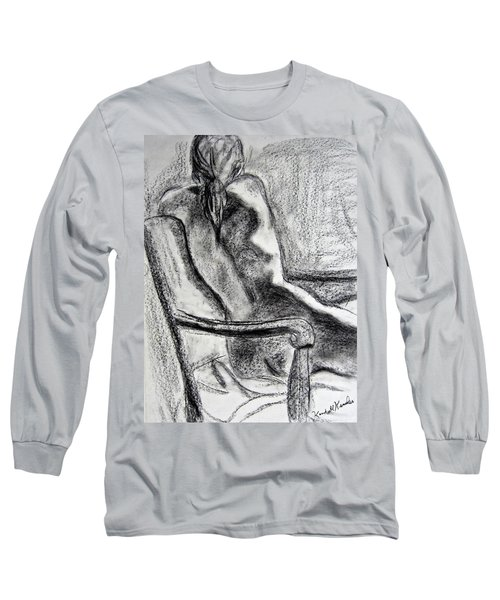 Reaching Out Long Sleeve T-Shirt by Kendall Kessler