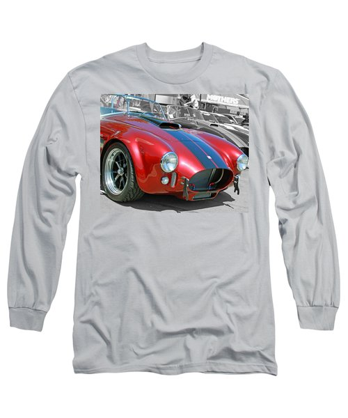 Long Sleeve T-Shirt featuring the photograph Red Cobra by Shoal Hollingsworth