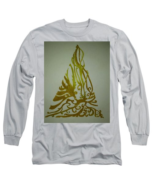 Fancy Antler Tree Long Sleeve T-Shirt