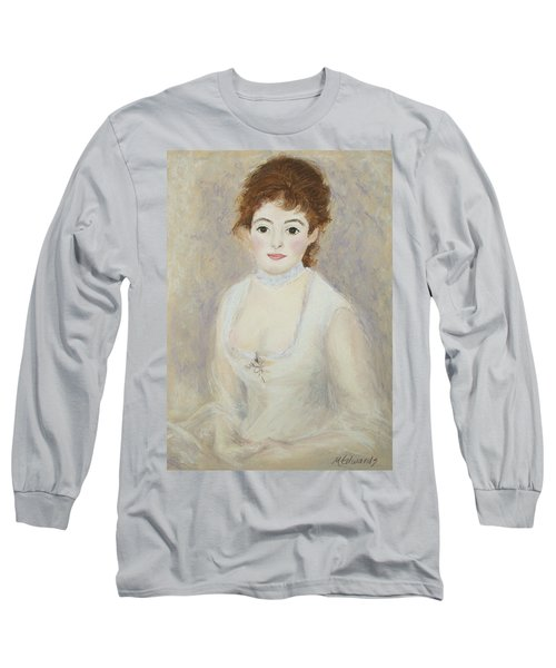 Renoir's Lady Long Sleeve T-Shirt
