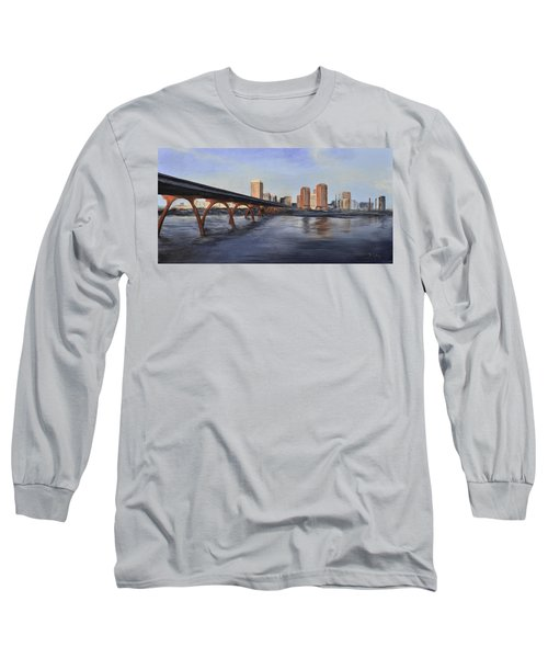 Richmond Virginia Skyline Long Sleeve T-Shirt