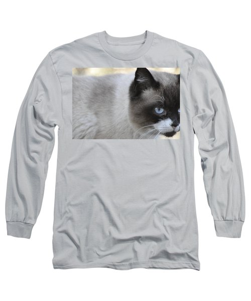 Long Sleeve T-Shirt featuring the photograph Ringtail by Sarah McKoy