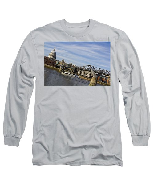 River Thames Uphill Long Sleeve T-Shirt