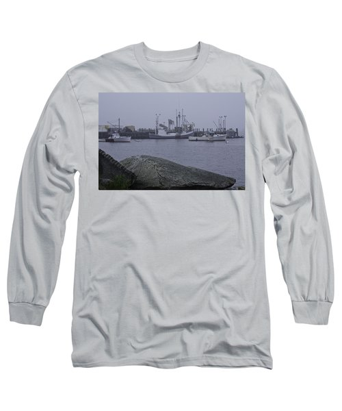 Long Sleeve T-Shirt featuring the photograph Rockland Me by Daniel Hebard