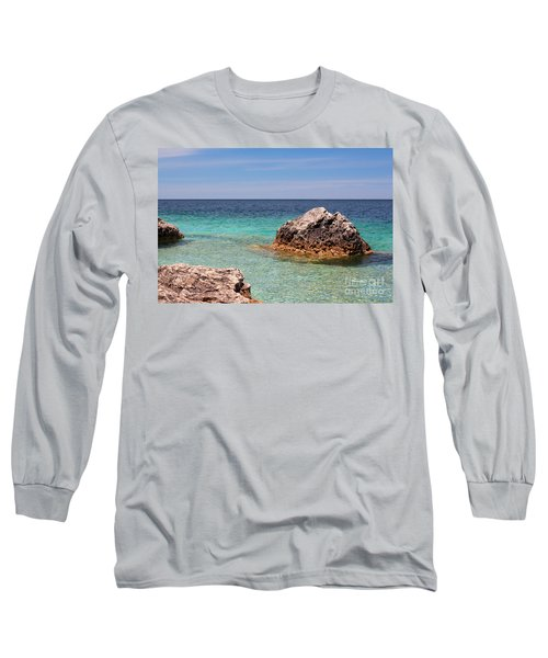 Rocky Shoals Of Tobermory Long Sleeve T-Shirt