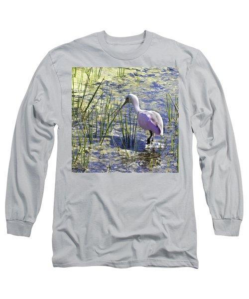 Roseate Spoonbill IIi Long Sleeve T-Shirt