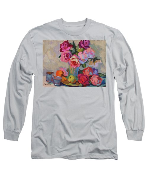 Roses And Apples Long Sleeve T-Shirt