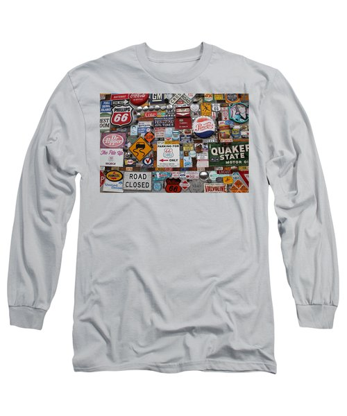 Route 66 Signs Long Sleeve T-Shirt