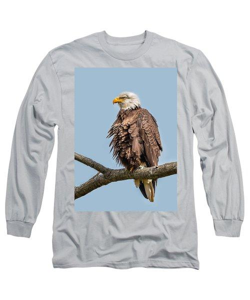 Ruffled Feathers Bald Eagle Long Sleeve T-Shirt